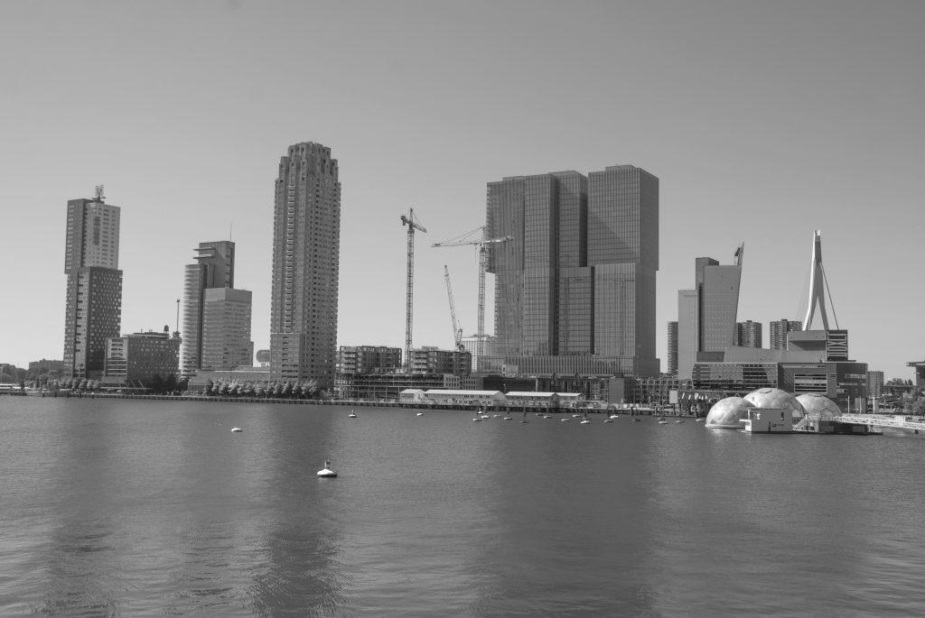 Rotterdam Rijnhaven bw